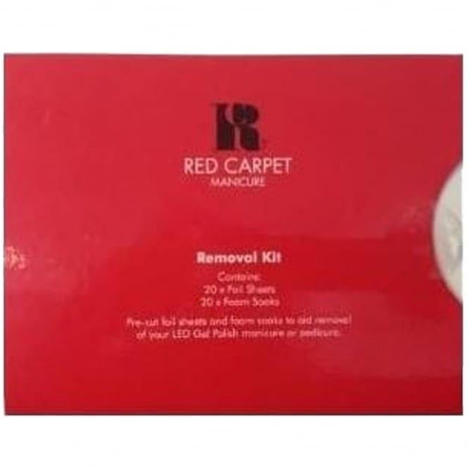 red carpet manicure kit instructions