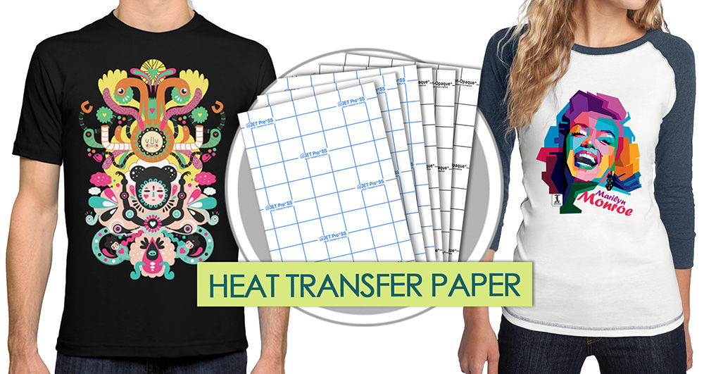 light transfer paper instructions