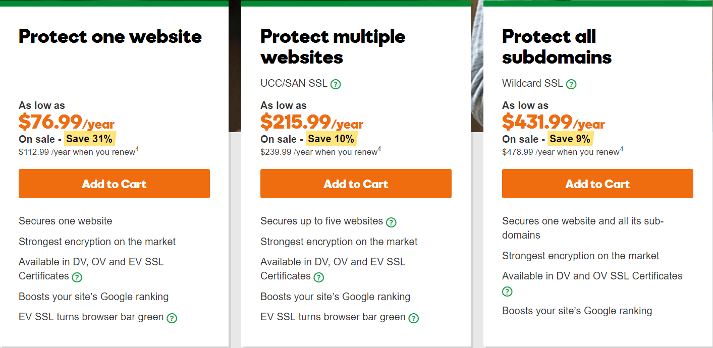 godaddy certificate installation instructions