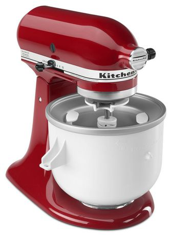 kitchenaid ice cream maker attachment instructions