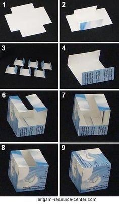extra gum origami instructions