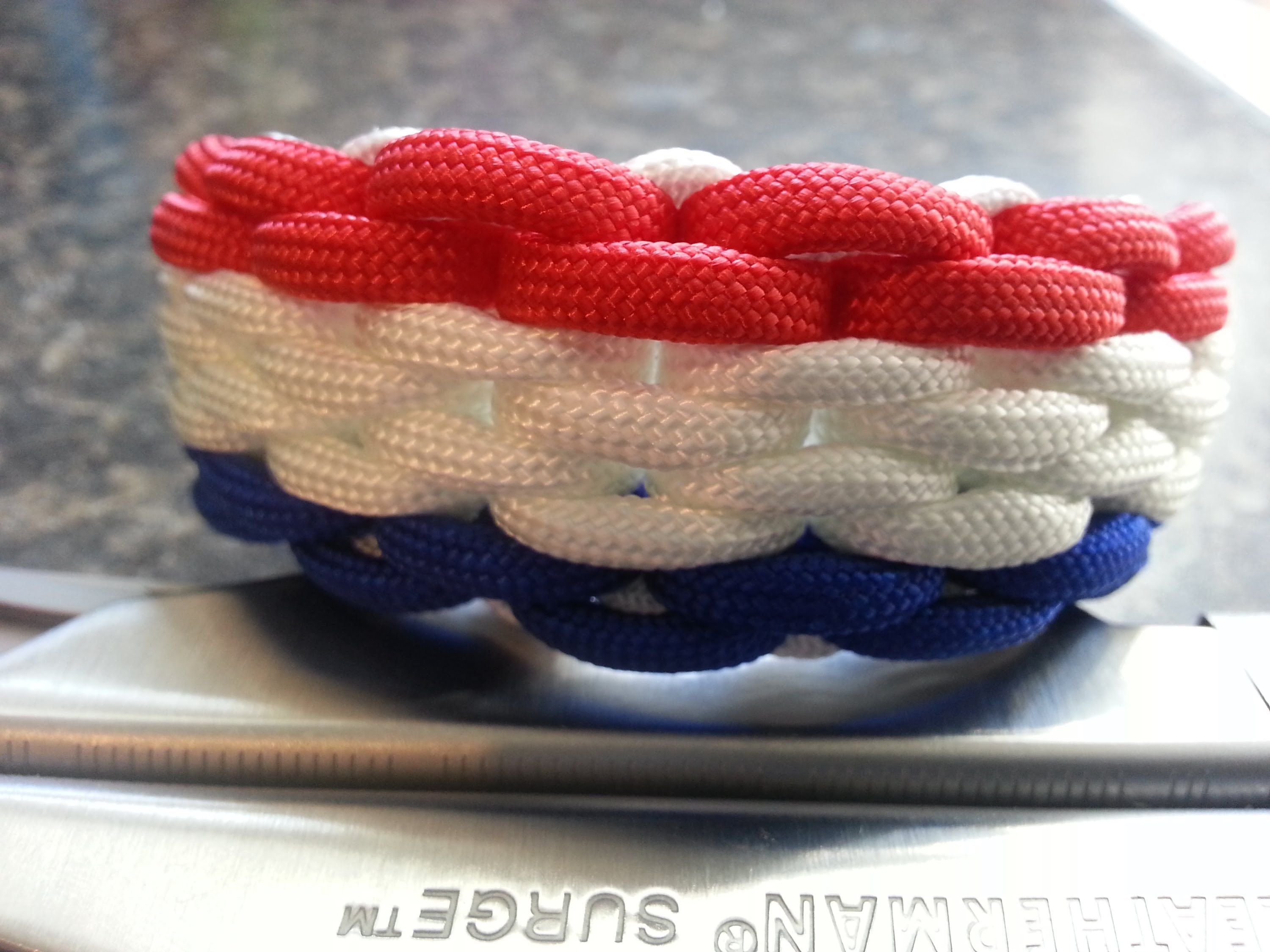 3 color paracord bracelet instructions