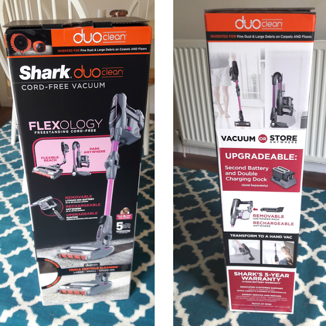 shark duo clean instructions