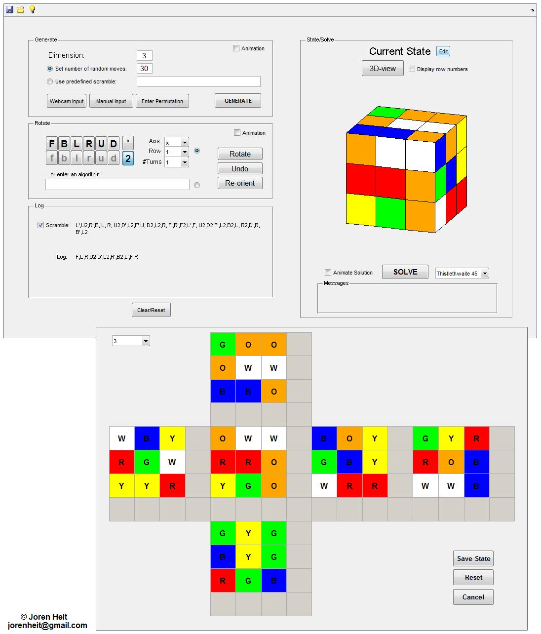 step by step instructions to solve a rubix cube