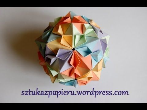 kusudama flower ball instructions