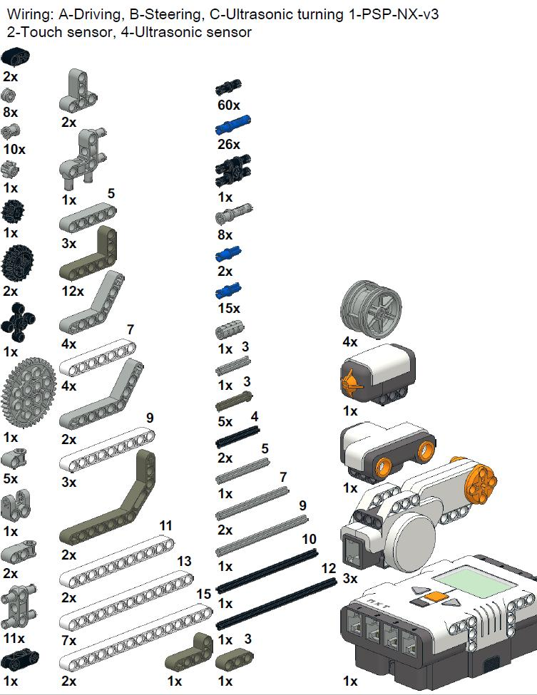 mindstorms nxt 2.0 building instructions