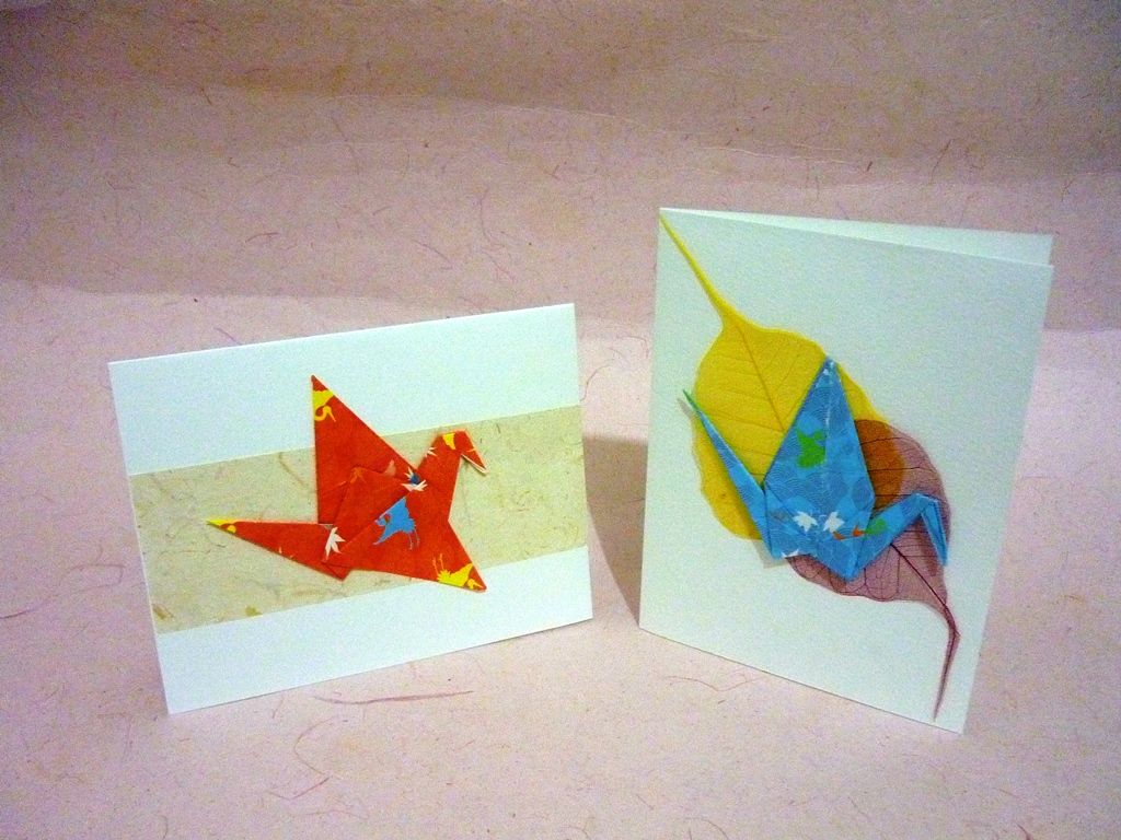 origami greeting card instructions