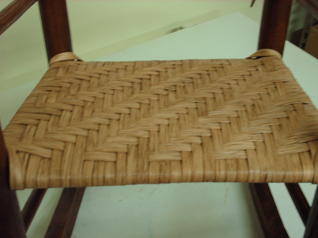 rush seat weaving instructions
