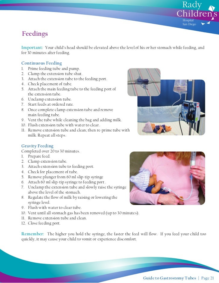tube feeding pump instructions